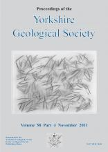 Proceedings of the Yorkshire Geological Society: 58 (4)