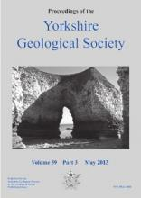 Proceedings of the Yorkshire Geological 				Society: 59 (3)