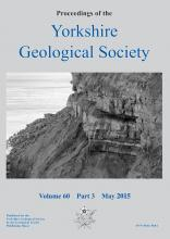 Proceedings of the Yorkshire Geological 				Society: 60 (3)