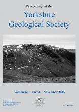 Proceedings of the Yorkshire Geological 				Society: 60 (4)