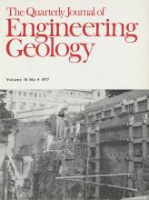 Quarterly Journal of Engineering Geology and Hydrogeology: 10 (4)