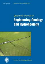 Quarterly Journal of Engineering Geology and Hydrogeology: 44 (4)