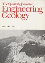 Quarterly Journal of Engineering Geology and Hydrogeology: 8 (2)